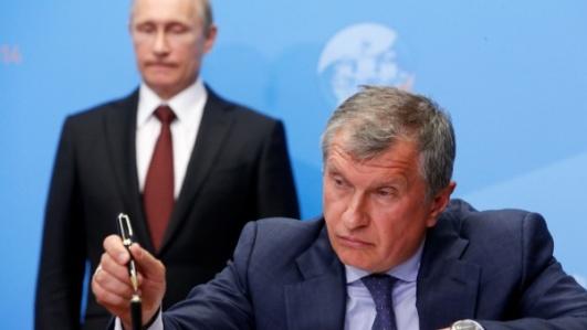 Putin Sechin