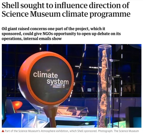 Shell sought to influence - Guardian