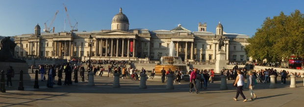 National Gallery (cropped panorama)