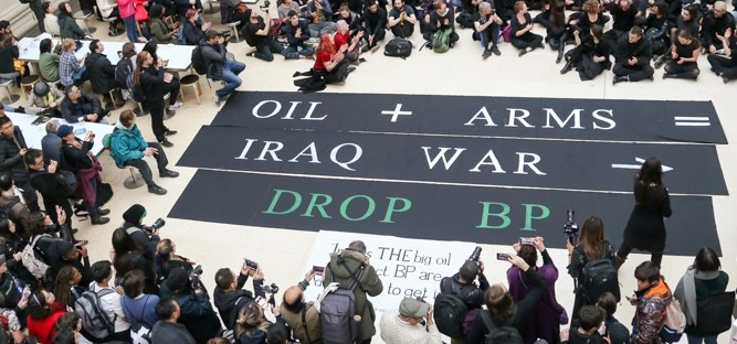 How the British Museum and Foreign Office boost BP's spin on Iraq
