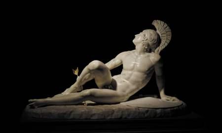 Achilles, Troy Exhibition